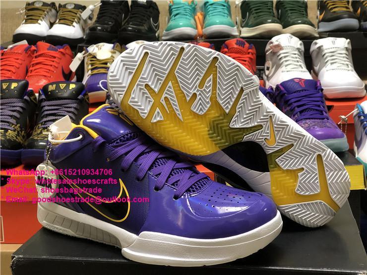 KOBE 4 ZK4 Kobe basketball shoes jordan sport shoes      air max 4
