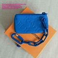 Louis Vuitton Monogram key pouch lv key pouch Monogram Solar Ray canvas LV purse