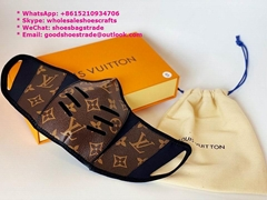 Louis Vuitton Monogram Face Mask LV leather dust Mask LV Mask Disney masks N95 K