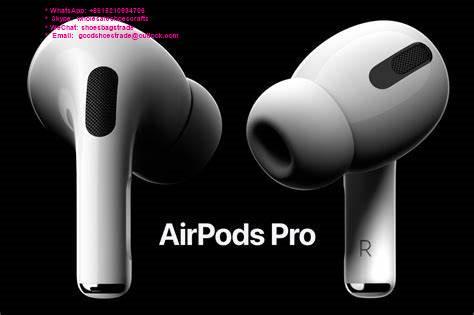 1:1 Airpods PRO Wireless Earphone Bluetooth Headphone Apple Headset Charger Box