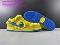 Grateful Dead Nike SB Dunk Low Shoes Bears Pack Green Bear PRO QS Sneakers Chunk