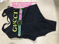 Sparkling swimsuit with Gucci logo Disney x Gucci swimsuit Gucci Swimwear Gucci