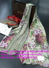 gucci Scarf Gucci cashmere scarf Gucci shawl Gucci cotton scarf GucciGhost scarf