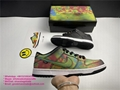 Grateful Dead Nike SB Dunk Low Shoes Bears Pack Green Bear PRO QS Sneakers Chunk