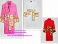 BAROQUE BATHROBE versace robe for women and men designer robe luxury robe bath b