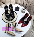 YSL heels sandals YSL slides YSL slippers YSL shoes OPYUM PUMPS WITH HEEL CASSAN