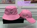 Prada nylon bucket hats caps sunhat sunbonnet sombrero beach hat dior visor cap