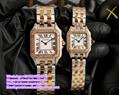 Cartier Panthere de Cartier Watch Ladies quartz movement watch Carier 18K yellow