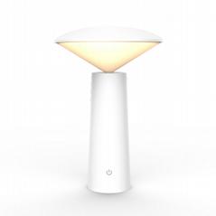 Restaurant decorative Rechargeable cordless LED desk/table lamp