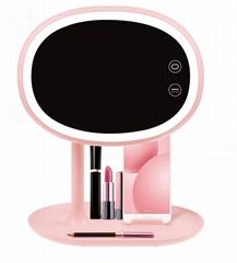 Cosmetic Desktop Portable makeup mirror lamp