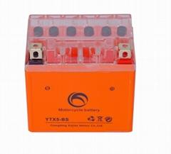 Guangdong Kejian deep-cycle YTX5-BS 12v5ah motorcycle battery
