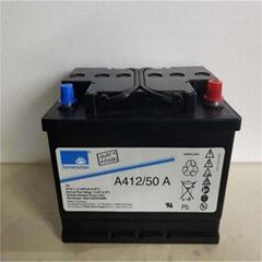德國陽光蓄電池A412/50A進口膠體蓄電池