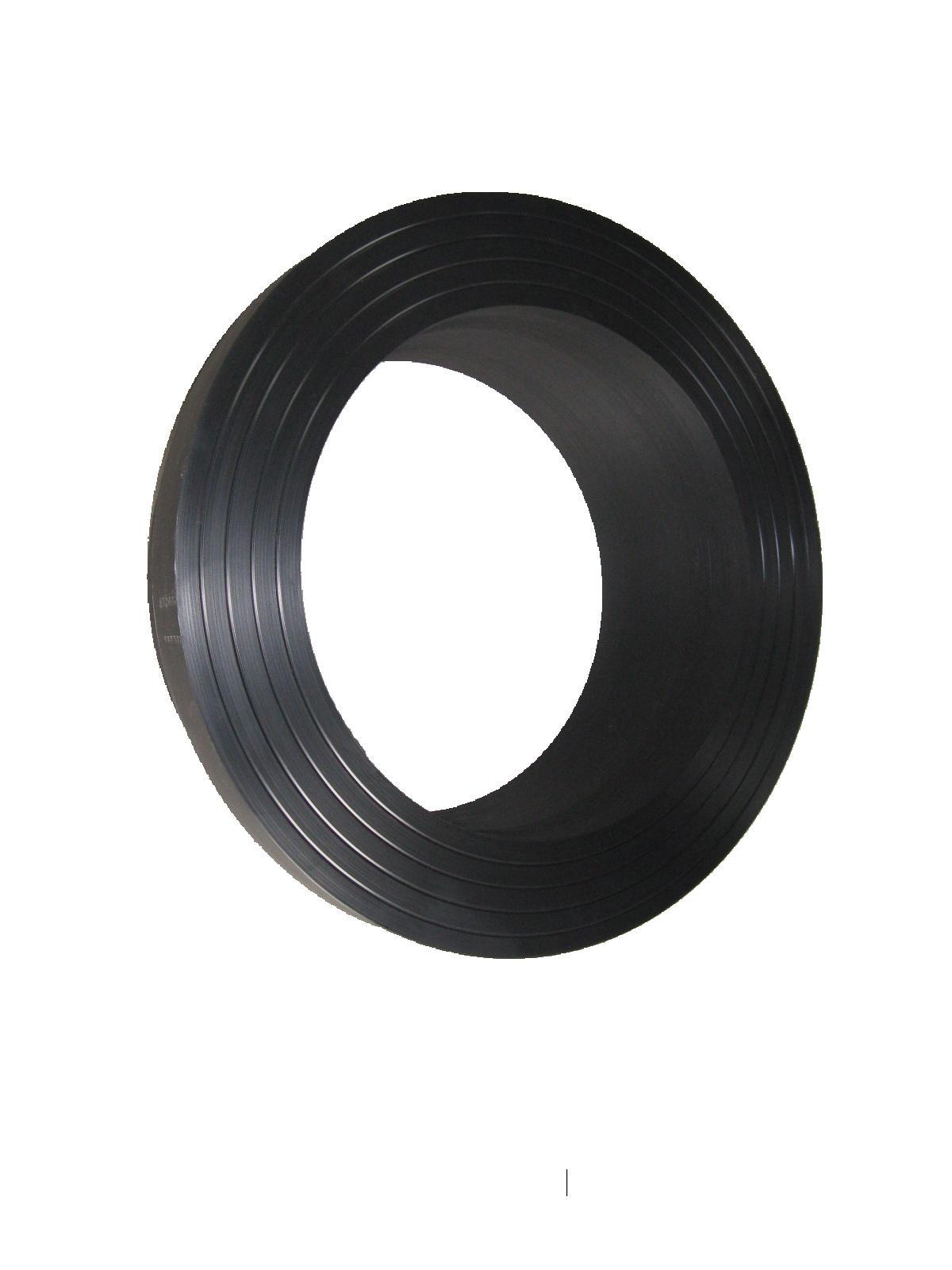 Customizable large diameter HDPE flange 1