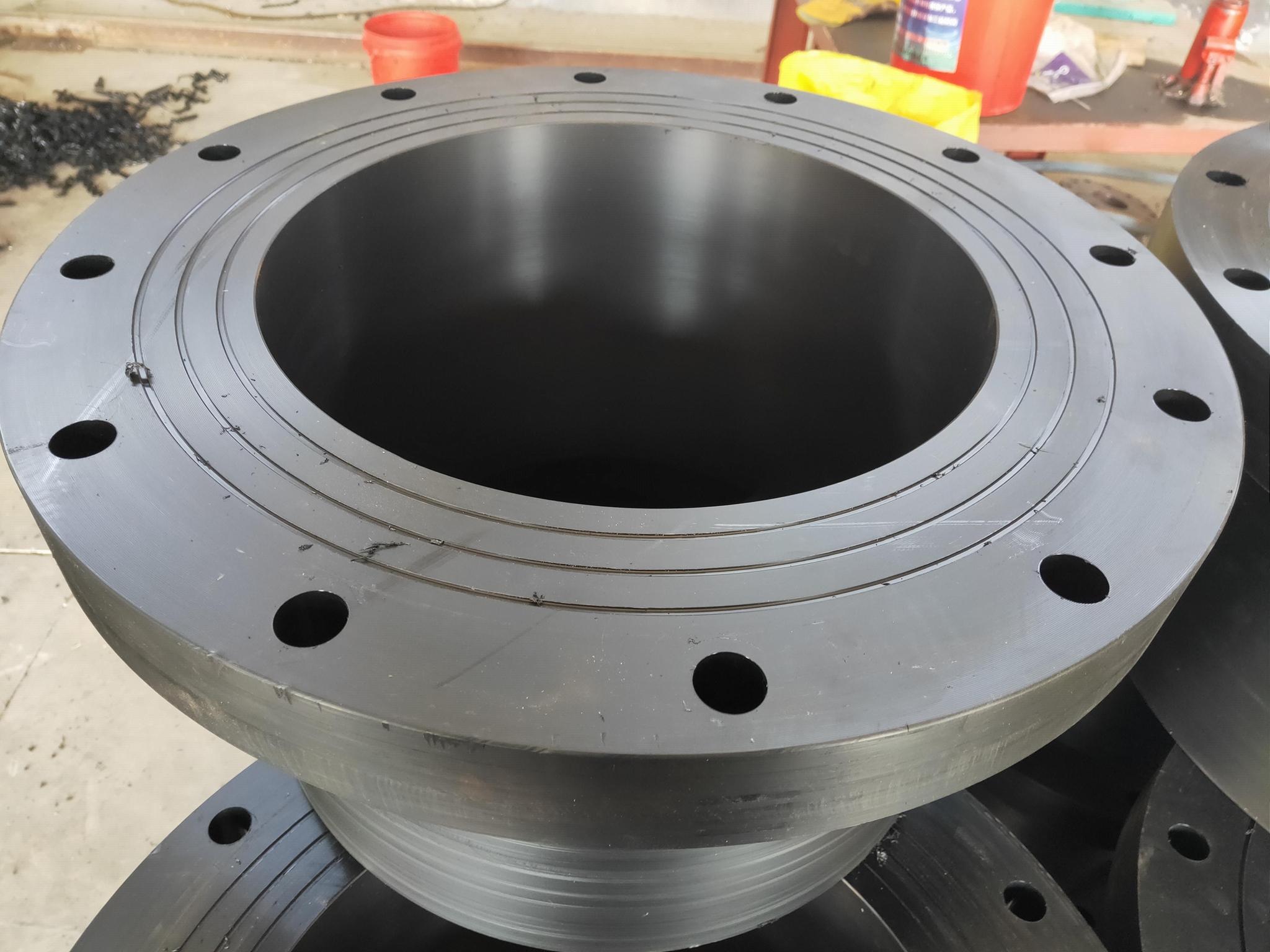 HDPE大尺寸高压力全尺寸法兰 4
