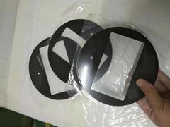 圆形玻璃面板