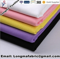 Tc Polyester cotton dyed fabric for pocketing and shirt fabric T/C65/35 133X72