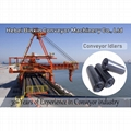 Steel Pipe Carrier Trough Roller for