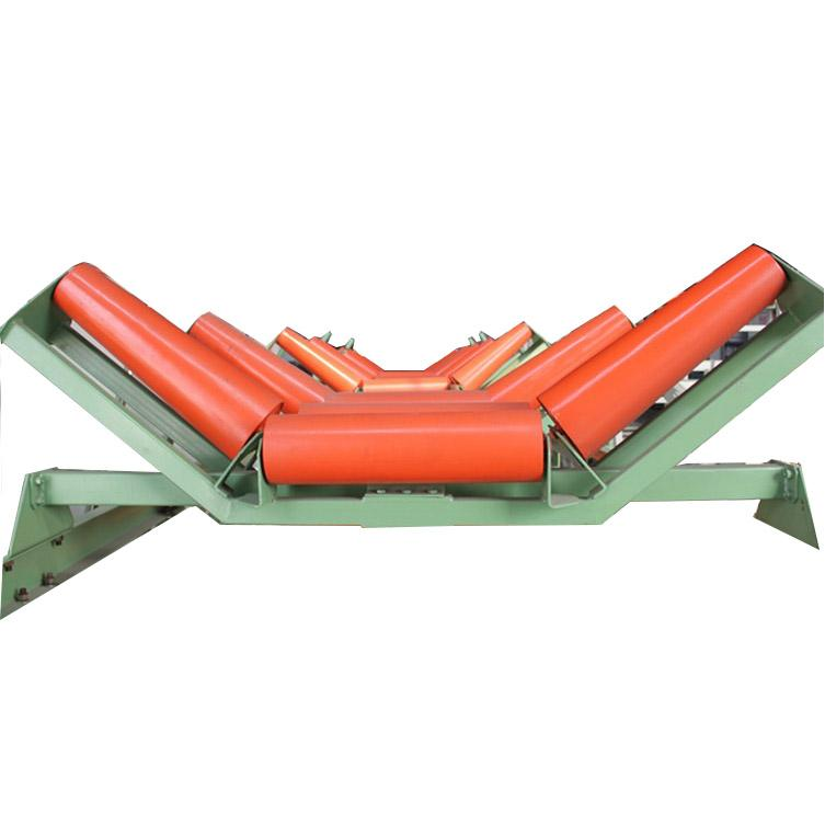 CEMA Standard Belt Conveyor Steel Carrying Idlers 2