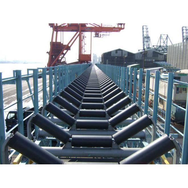 High Quality CEMA Standard Rubber Belt Conveyor Rollers 4