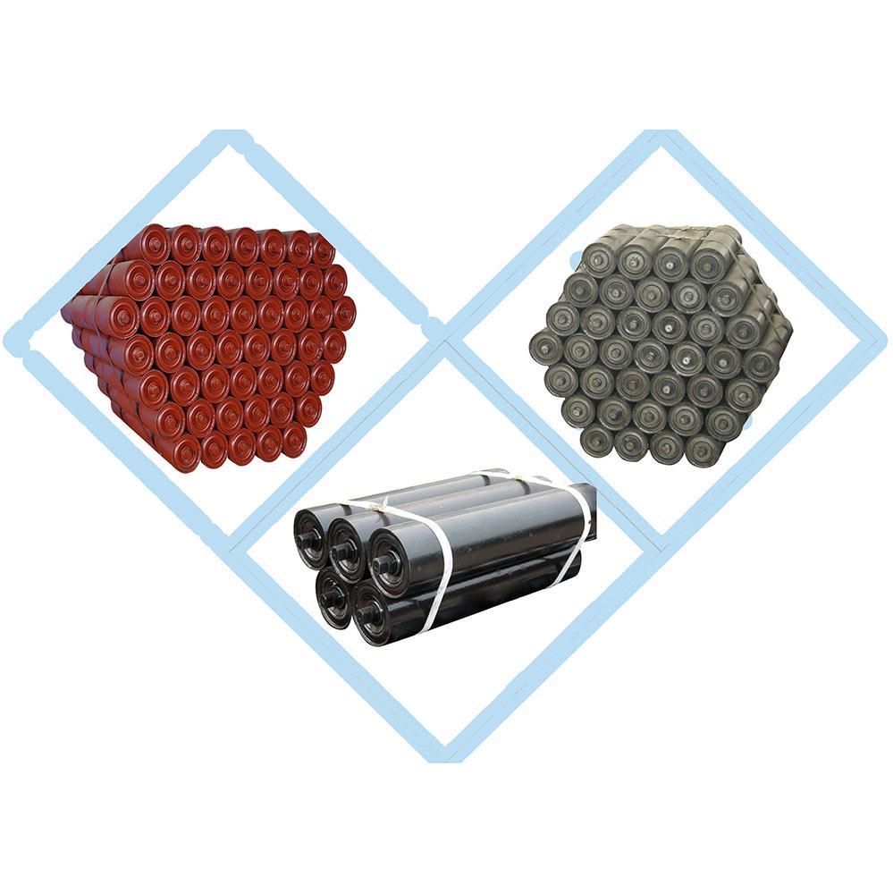 High Quality CEMA Standard Rubber Belt Conveyor Rollers 1