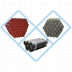 High Quality CEMA Standard Rubber Belt Conveyor Rollers