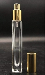 China hot sale perfume square tube cling neck glass bottle 10ML wholesale
