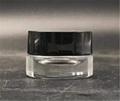 low price customized cosmetic round jar