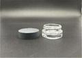China low price cosmetic round jar screw
