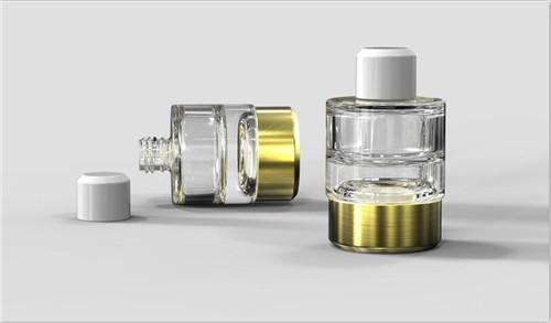 China low price free sample cosmetic double mouth perfume cream bottle 7G 1