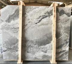High Quality Polished Royal Grey Marble