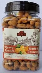 Honey Roasted Cashews 450gr