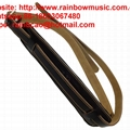 Vintage Style Genuine Leaher Padded  Elecric Acoustic Guitar Bass Straps 2
