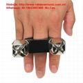 Cajon Accessories Finger Shakers Hand Jingle Shaker Rhythm instruments 2