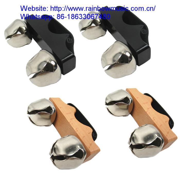 Cajon Accessories Finger Shakers Hand Jingle Shaker Rhythm instruments 4