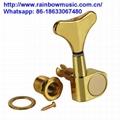 High Quality Electric Bass Sealed Knob Locking Tuning Pegs Tuner Machine Heads 4