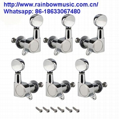 1Set 6pcs Right Inline Guitar Locking