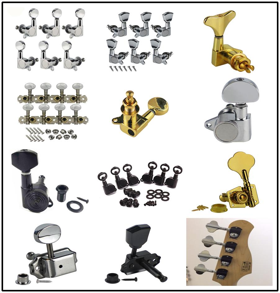18:1 Ratio Guitar Tuning Peg Tuner Machine Heads 6R for Electric Acoustic Guitar 4