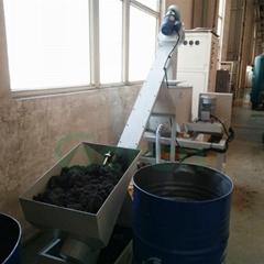 磨屑甩干脱油机螺旋送料输送机全自动液压甩干机
