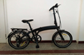foldable electric bicycle 36v10ah 250w DC motor city ebike Lightweight electric  2