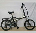 foldable electric bicycle 36v10ah 250w DC motor city ebike Lightweight electric  3