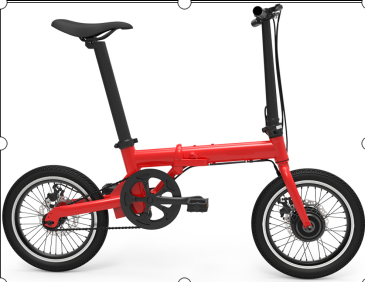 foldable electric bicycle 36v10ah 250w DC motor city ebike Lightweight electric  4