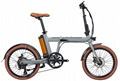 foldable electric bicycle 36v10ah 250w DC motor city ebike Lightweight electric  5