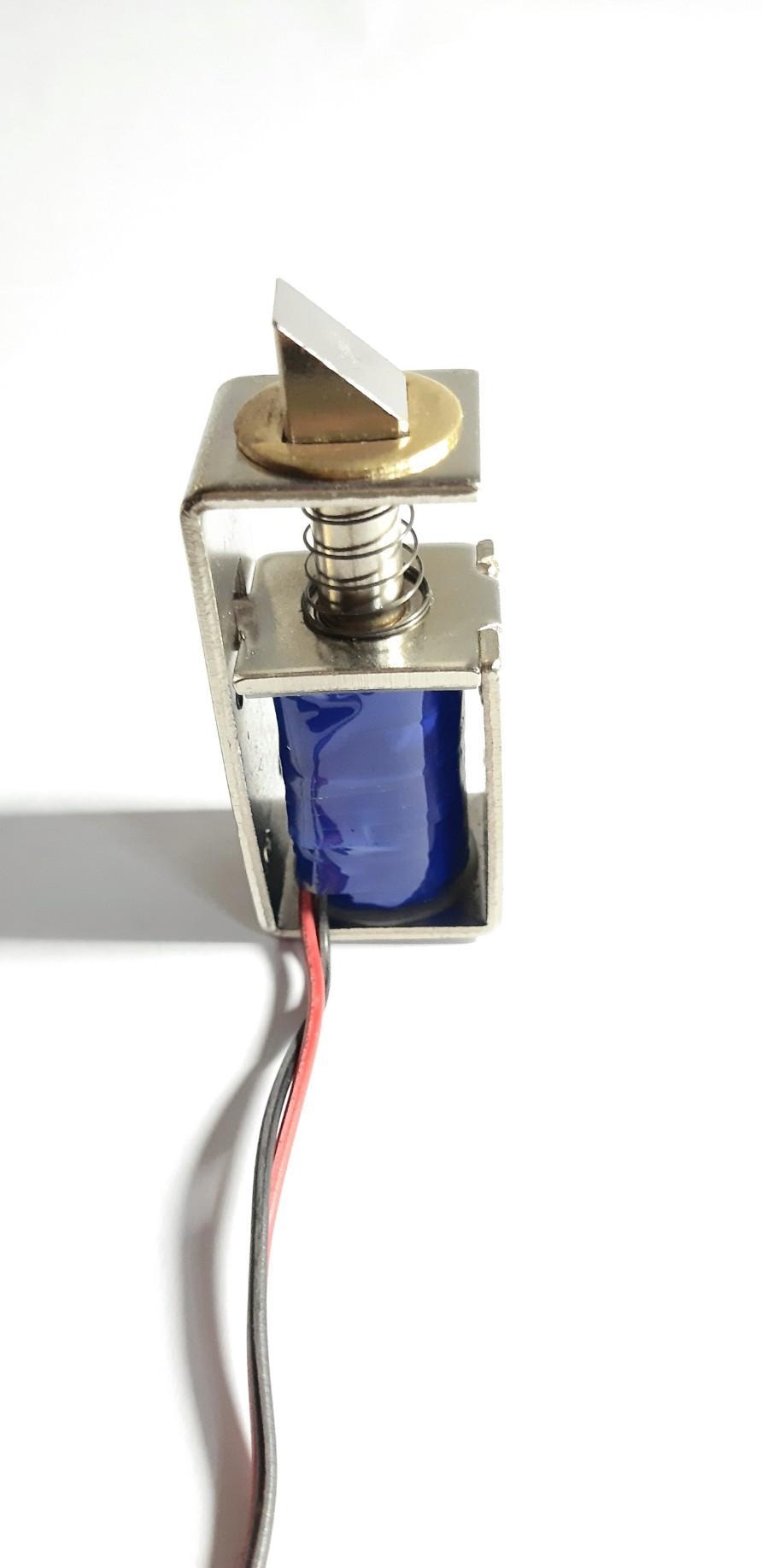 保险箱自动门电动门门锁电磁铁开关 1
