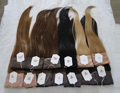 Stock Top European Virgin Hair Lace Wig Grips Headband With Hair