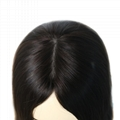 Jewish Wigs Kosher Wigs Blunt Short Bob Wig 100% Double Drawn European Human Hai 3