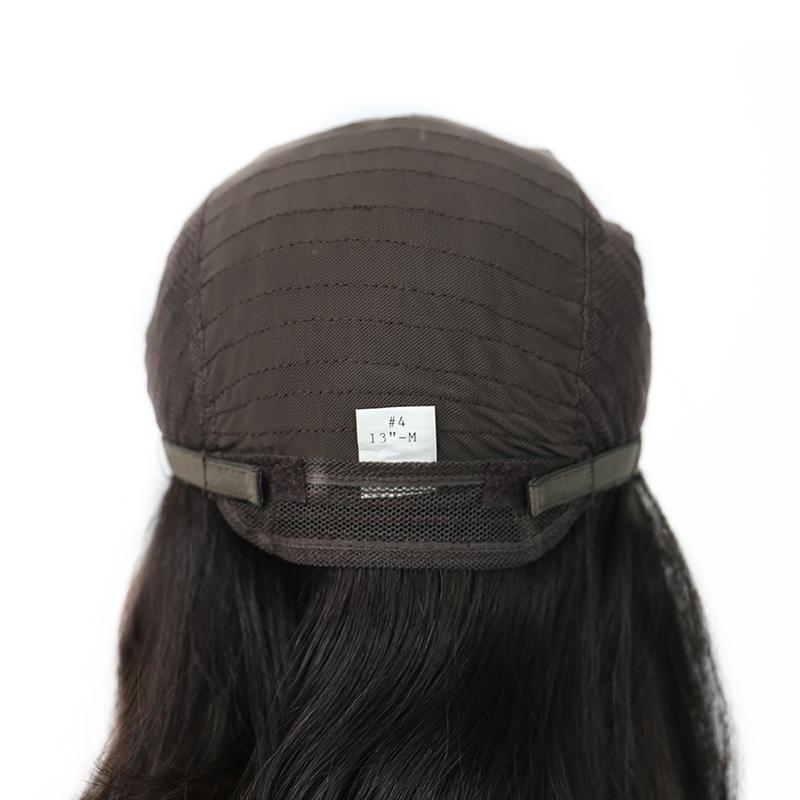 Short Bob Silk Top Jewish Wig Double Drawn European Human Hair Kosher Wig 2