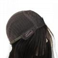 Short Bob Silk Top Jewish Wig Double Drawn European Human Hair Kosher Wig 4