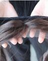 Stock European Virgin Hair Lace Wig Grips Headband With Hair  3