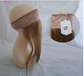 Stock All Color Human Hair Lace Wig Grips Headband With Hair 2