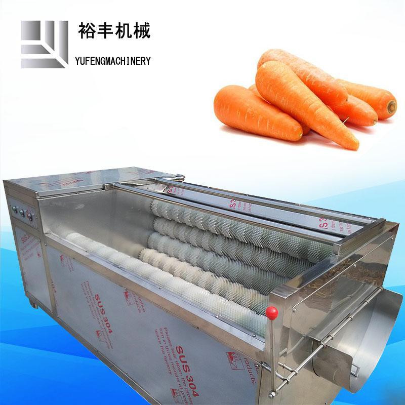 胡萝卜清洗机毛辊去泥机 2